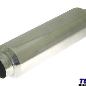 """TurboWorks QDD-09 2,25"""" , L320mm, toba cerc 90mm, inlet 57mm TW-TL-034"""