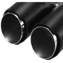 GW CF ET004 1 b - Sisteme de esapament - Sisteme de esapament - Magazin sisteme de eșapament - Ornament esapament dublu CARBON mirror 63-90mm CF-ET006-01